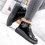 Ботинки женские Erme черные ДЕМИ 2840, фото 5