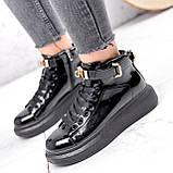 Ботинки женские Erme черные ДЕМИ 2840, фото 6