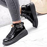 Ботинки женские Erme черные ДЕМИ 2840, фото 9