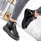 Ботинки женские Erme черные ДЕМИ 2840, фото 10