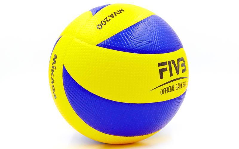 Мяч волейбольный клееный Mikasa MVA-200 оригинал