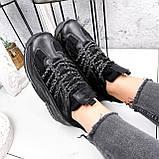 Кроссовки женские Karen черные 2833, фото 5