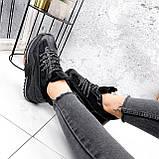 Кроссовки женские Karen черные 2833, фото 4