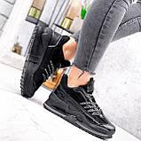 Кроссовки женские Karen черные 2833, фото 7