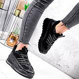 Кроссовки женские Karen черные 2833, фото 9
