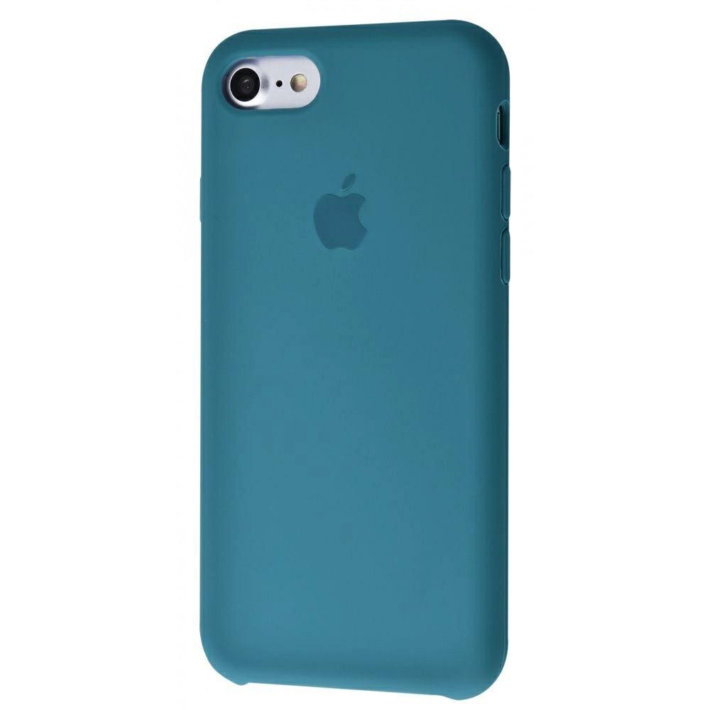Чехол Silicone Case (Premium) для iPhone 7 / 8 / SE Alaskan Blue