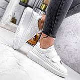 Кроссовки женские Mag белые 2838, фото 9