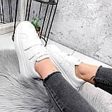 Кроссовки женские Mag белые 2838, фото 10