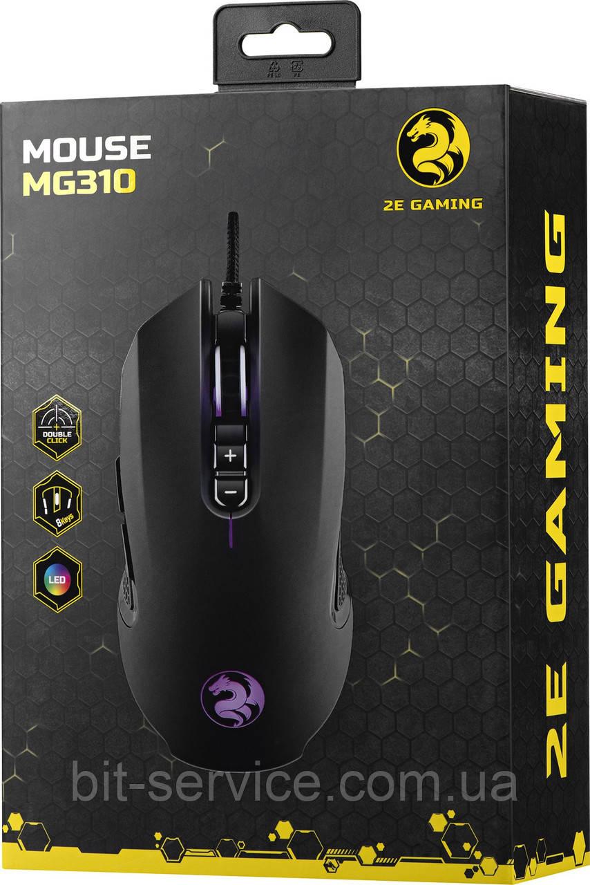 Миша ігрова 2E Gaming MG340 Black (2E-MG340UB) USB