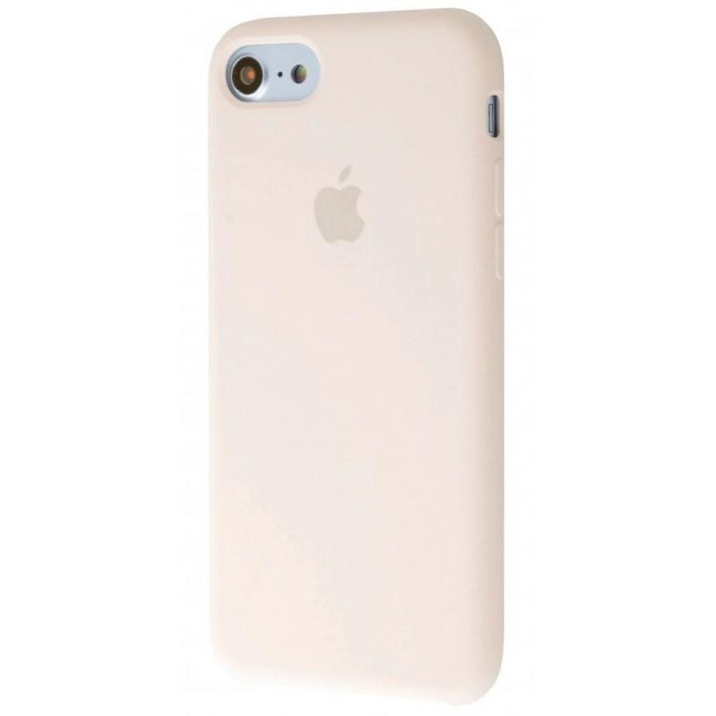 Чехол Silicone Case (Premium) для iPhone 7 / 8 / SE Antique White