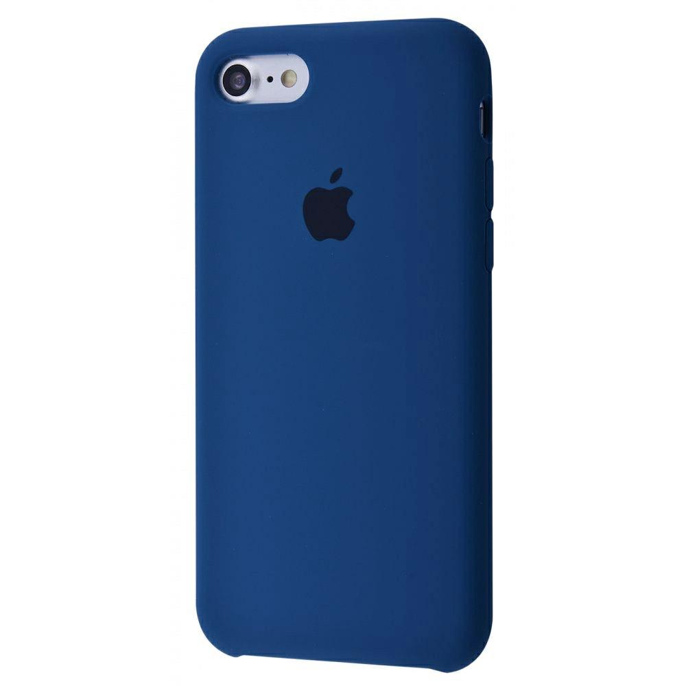 Чехол Silicone Case (Premium) для iPhone 7 / 8 / SE Blue Horizon