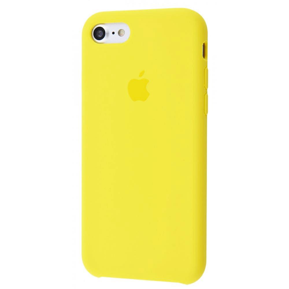 Чехол Silicone Case (Premium) для iPhone 7 / 8 / SE Canary Yellow