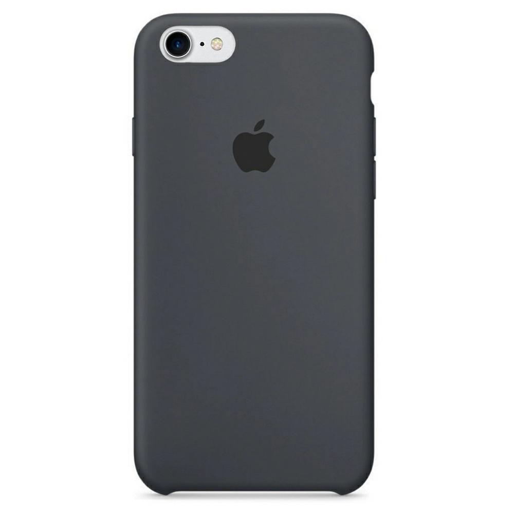 Чехол Silicone Case (Premium) для iPhone 7 / 8 / SE Charcoal Gray