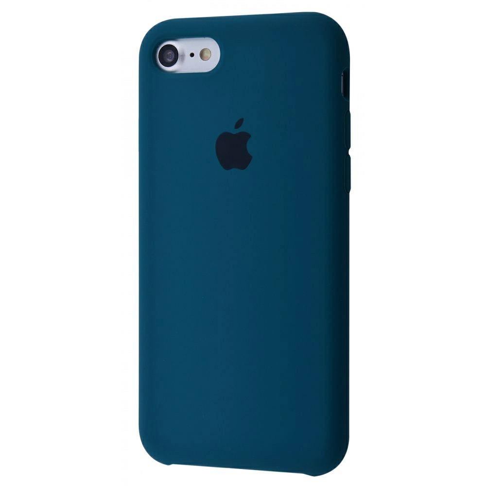 Чехол Silicone Case (Premium) для iPhone 7 / 8 / SE Cosmos Blue