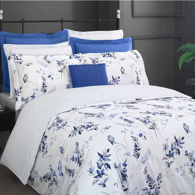 Комплект постельного белья евро 300 ТС La Dora мако сатин  200*220 Hermanus Home