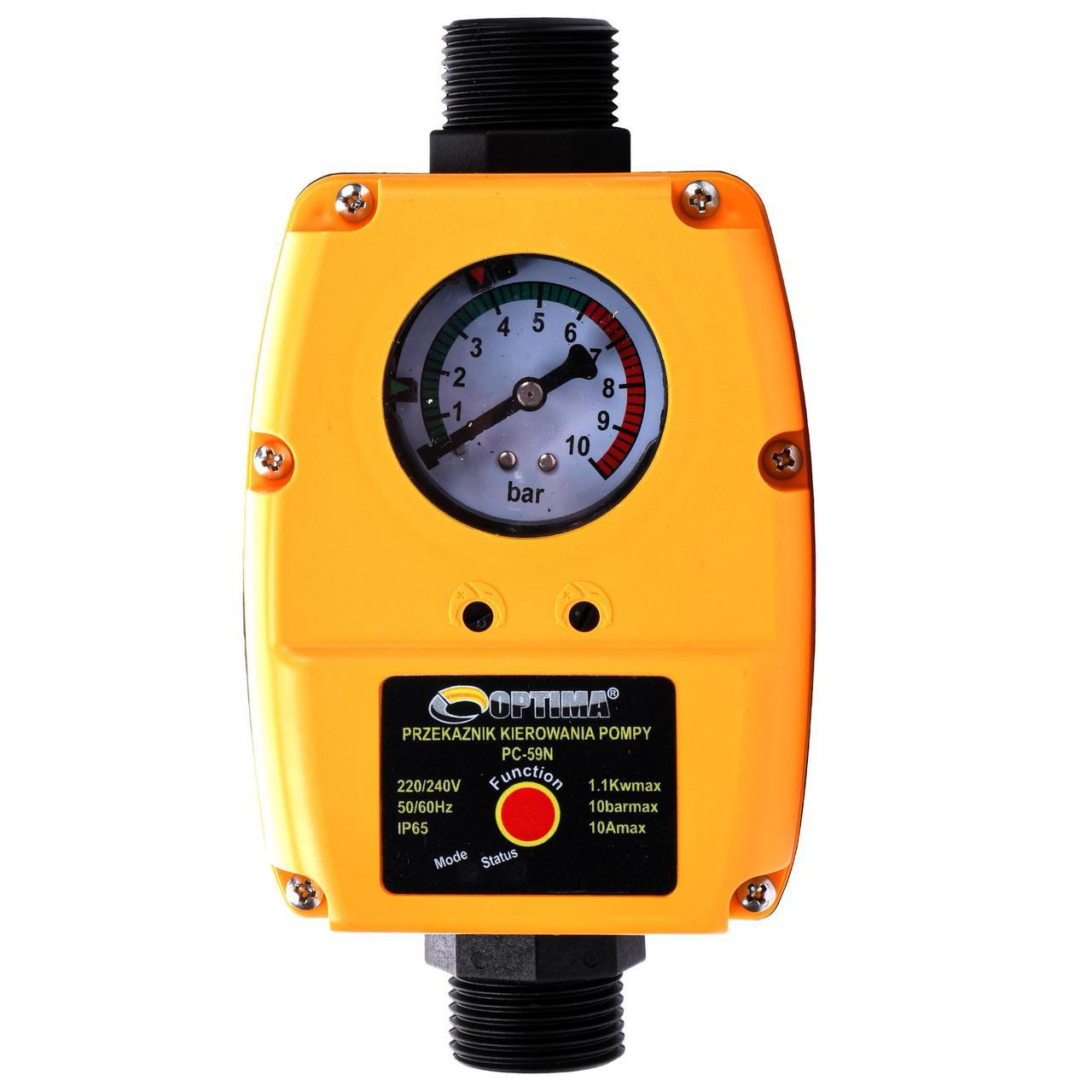 Защита сухого хода Optima PC59N c регулируемым диапазоном давления
