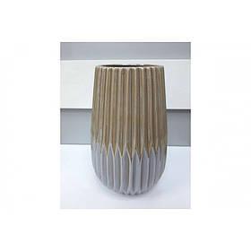 Ваза керамическая Felicia h-23,5 см кофейный перламутр BonaDi 795-425