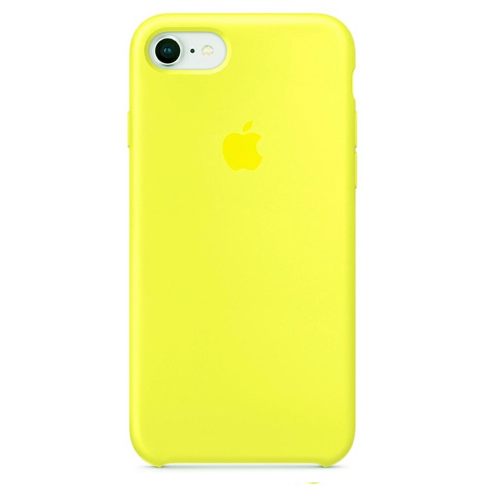 Чехол Silicone Case (Premium) для iPhone 7 / 8 / SE Flash