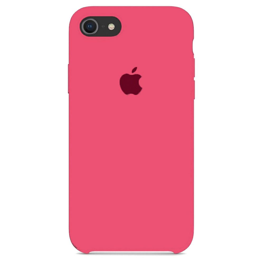 Чехол Silicone Case (Premium) для iPhone 7 / 8 / SE Hibiscus