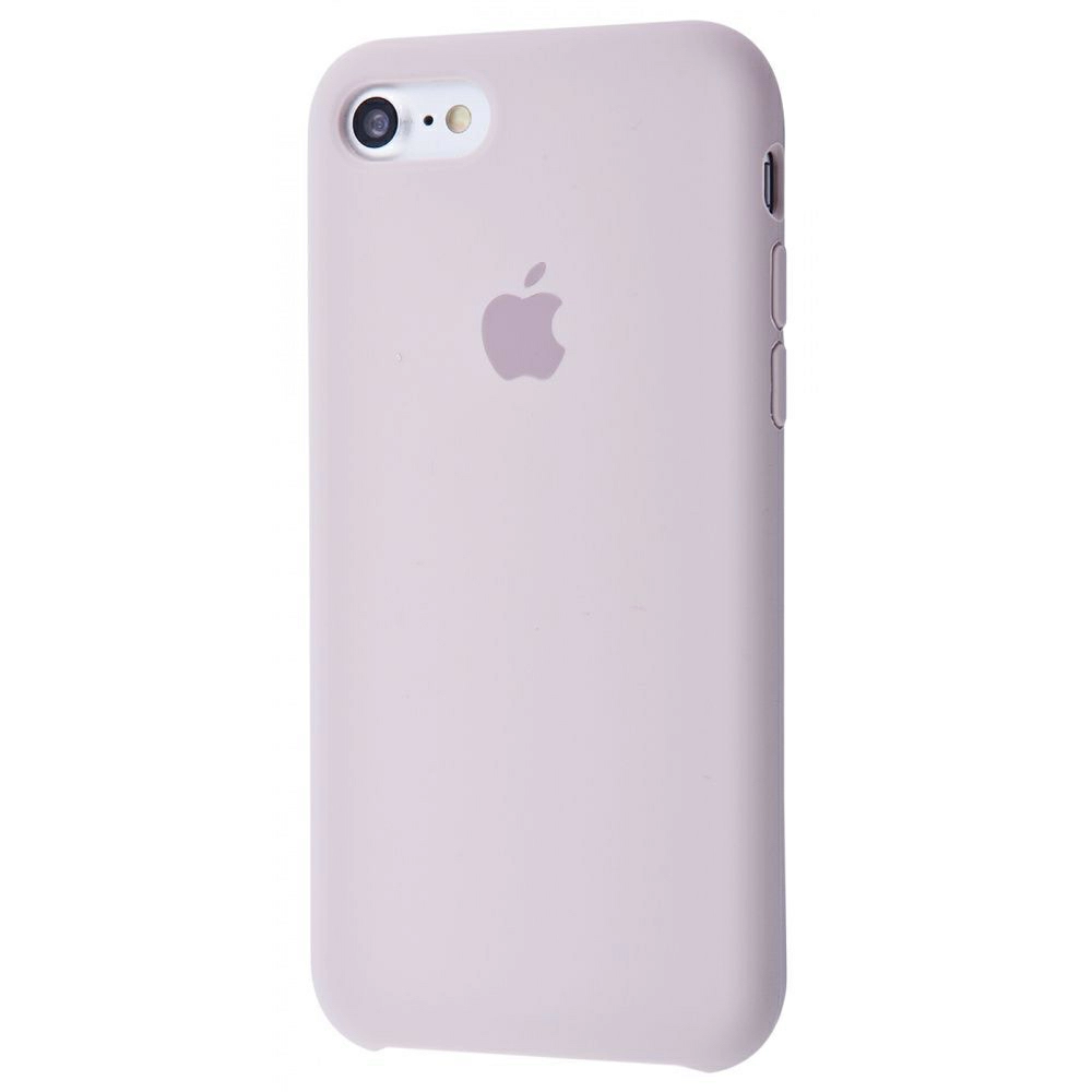 Чехол Silicone Case (Premium) для iPhone 7 / 8 / SE Lavender