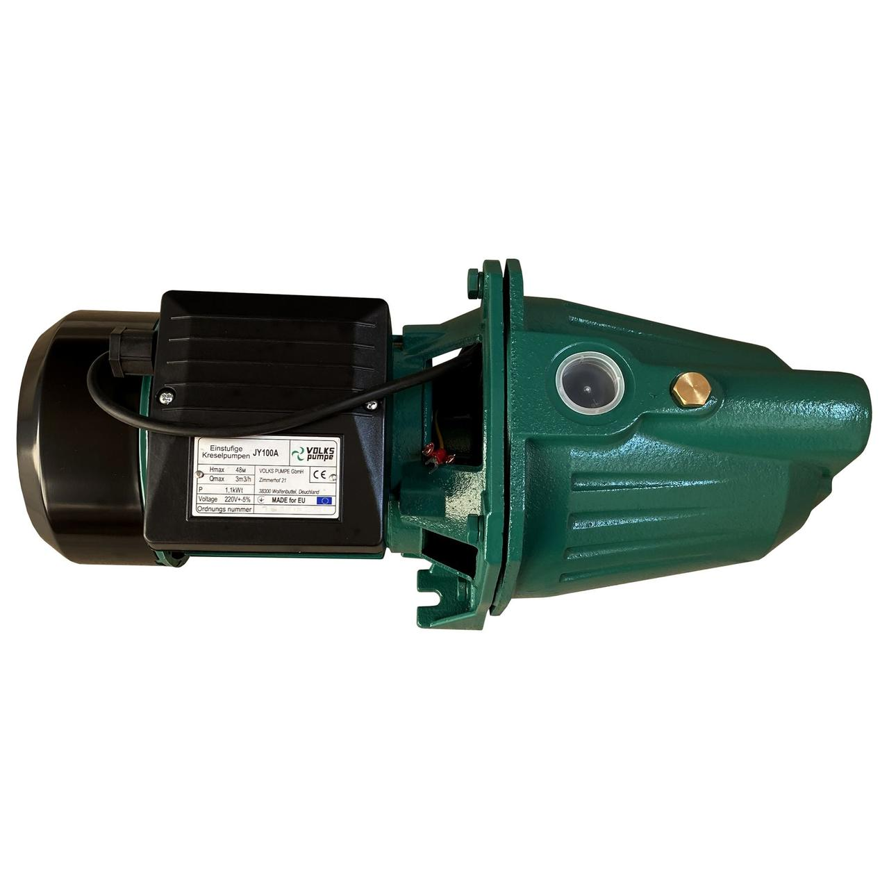 Насос центробежный Volks pumpe JY100A 1,1 кВт чугун длинный
