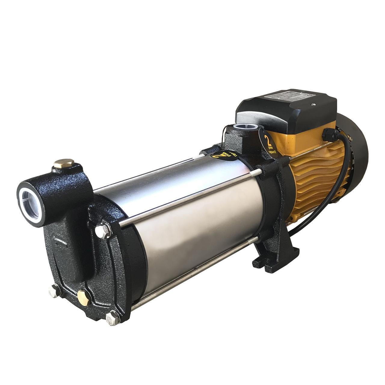 Насос центробежный многоступенчатый Optima MH-N 1800INOX 1,8 кВт нерж. колеса