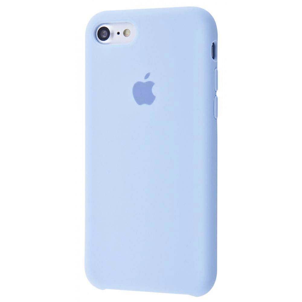Чехол Silicone Case (Premium) для iPhone 7 / 8 / SE Lilac