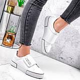 Кроссовки женские Greg белые с серым 2848, фото 2
