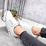 Кроссовки женские Greg белые с серым 2848, фото 4