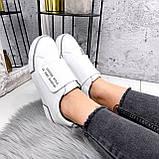 Кроссовки женские Greg белые с серым 2848, фото 10