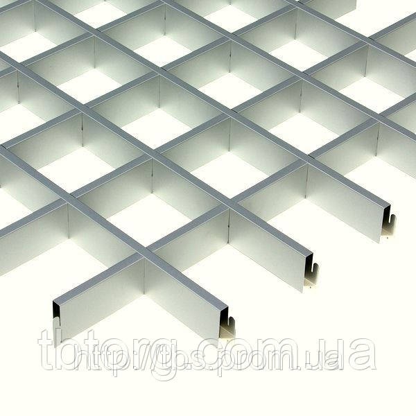 Потолки подвесные  Грильято 60х60