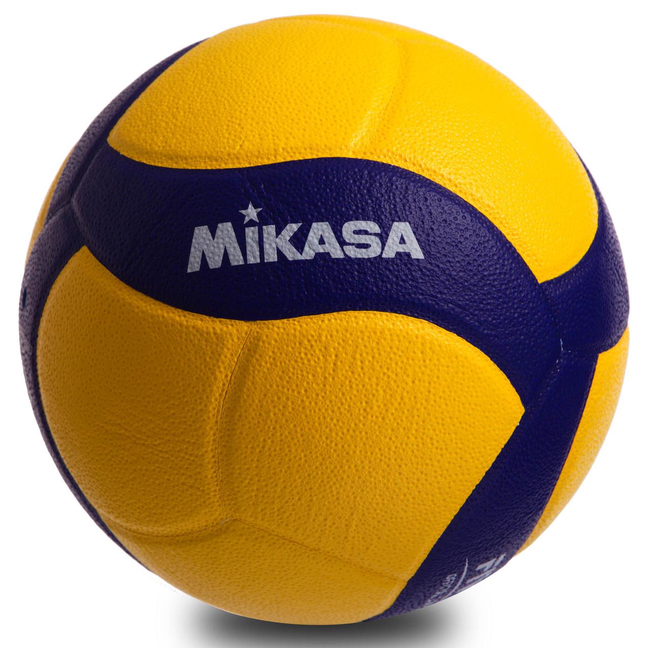 Мяч волейбольный клееный Mikasa V320W оригинал