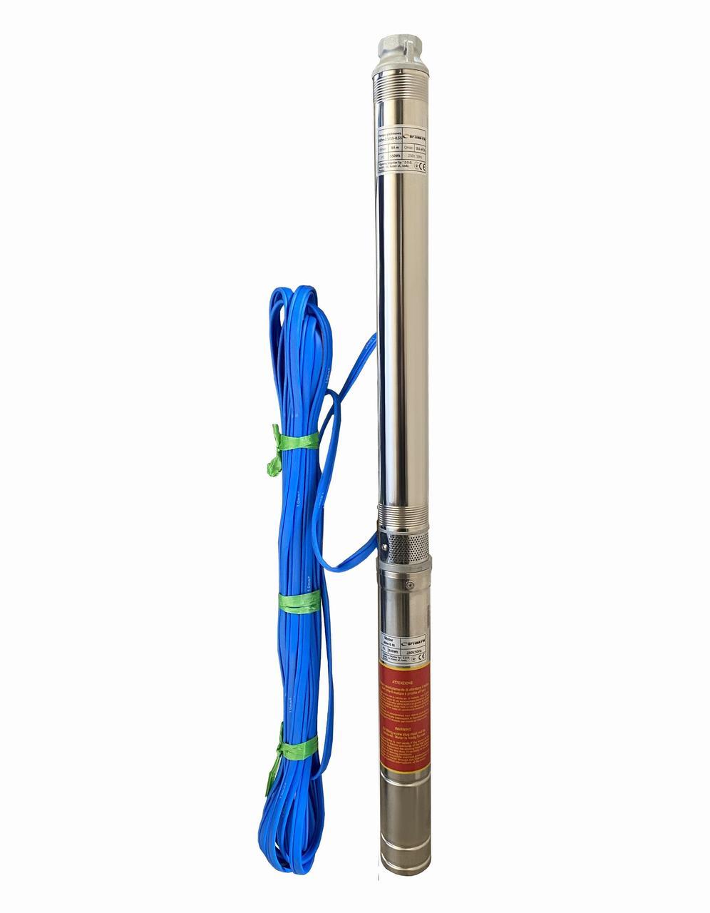 Насос скважинный центробежный Optima PM 3SDm2.5/15 0,55 кВт 65 м + 15 м кабель