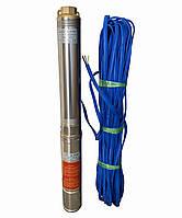 Насос скважинный центробежный Optima 4SDm3/11 0,75 кВт 80 м + кабель 50 м и пульт, фото 1
