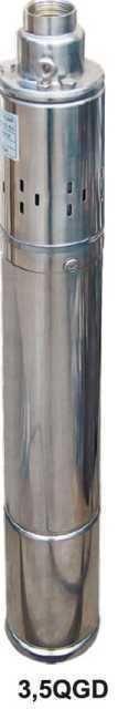 Насос скважинный шнековый Volks pumpe 3,5QGD 1,8-50-0,75 кВт 3,5 дюйма + кабель 15 м