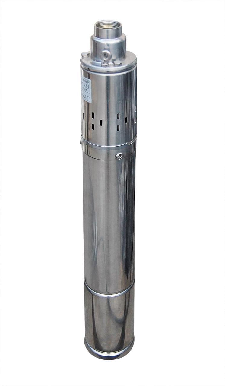 Насос скважинный шнековый Volks pumpe 4QGD 1,2-100-0,75 кВт 4 дюйма +кабель 15 м