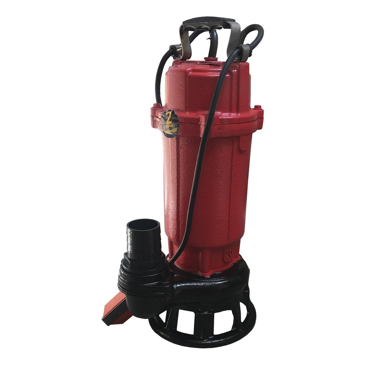 Насос фекальный с режущим механизмом Optima WQ15-14G 1,5 кВт