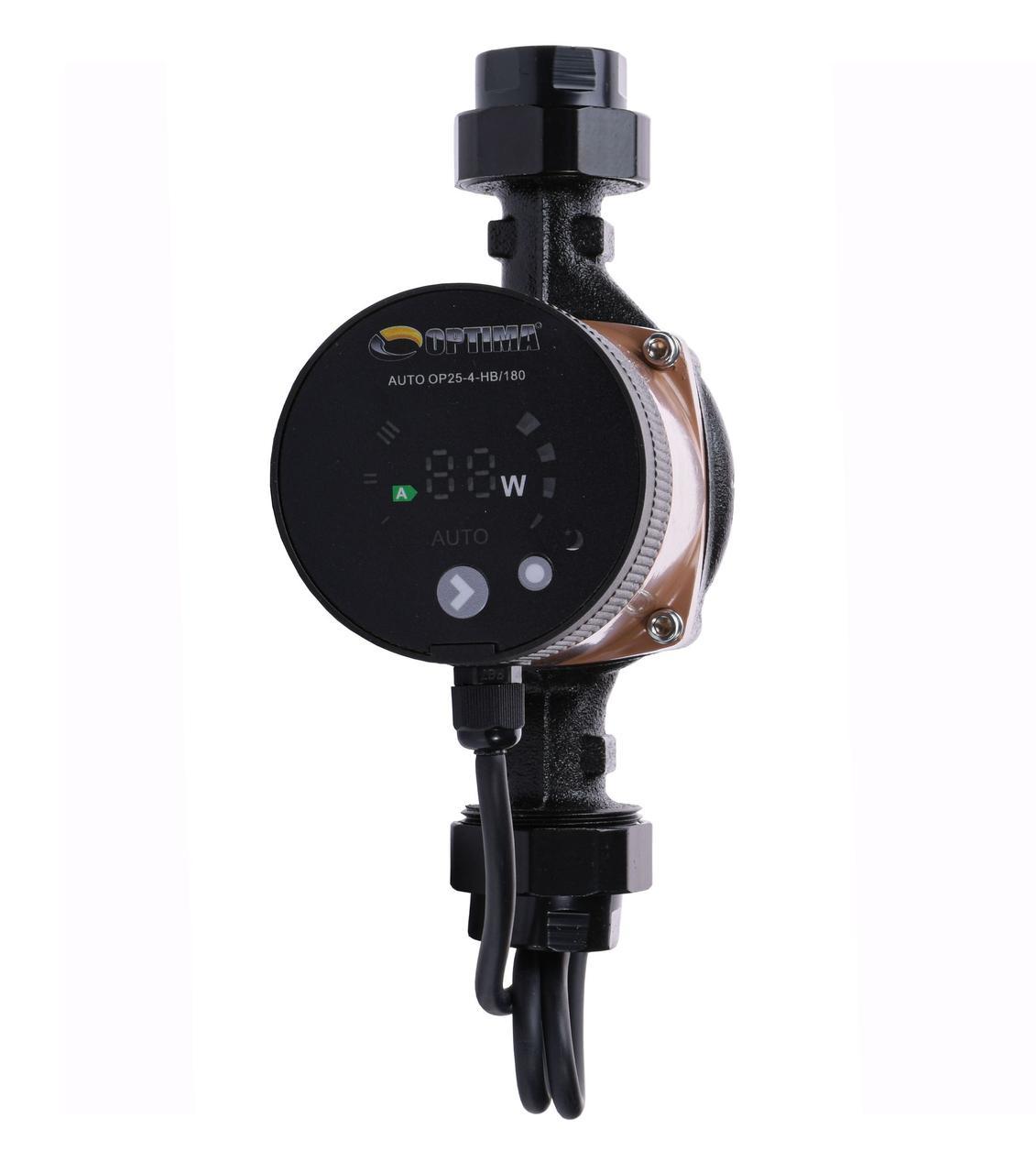 Насос циркуляционный энергосберегающий Optima OP25-40AUTO 180 мм + гайки