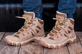 """Зимние военные Ботинки """"Ukr-Tec"""" бежевые, 36-46 размеры"""