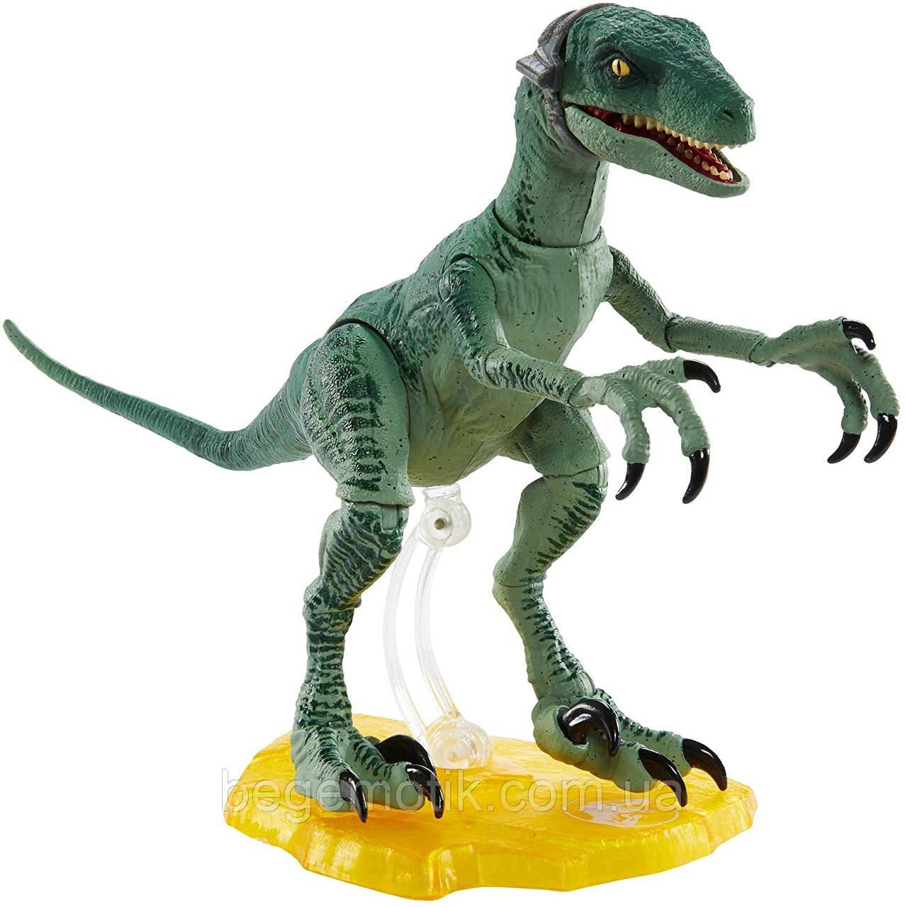 Jurassic World Динозавр Велоцераптор Юрский мир Jurassic World Amber Collection Velociraptor Delta