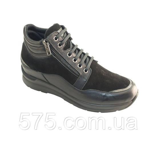 Ботинки женские Sabatini (S3502) Черный