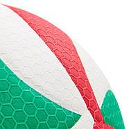 Мяч волейбольный клееный Molten V5M5000 оригинал, фото 2