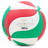 Мяч волейбольный клееный Molten V5M5000 оригинал, фото 3