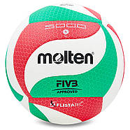 Мяч волейбольный клееный Molten V5M5000 оригинал, фото 4