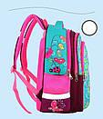 Рюкзак школьный Котенок для девочки ортопедический в первый 1 2 3 4 класс, фото 3