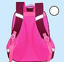 Рюкзак школьный Котенок для девочки ортопедический в первый 1 2 3 4 класс, фото 4