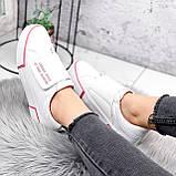 Кроссовки женские Greg белые с розовым 2849, фото 9