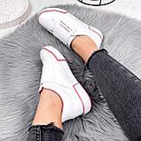 Кроссовки женские Greg белые с розовым 2849, фото 10
