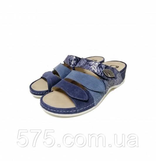 Шлепанцы женские Mubb (701-18.2) Синий