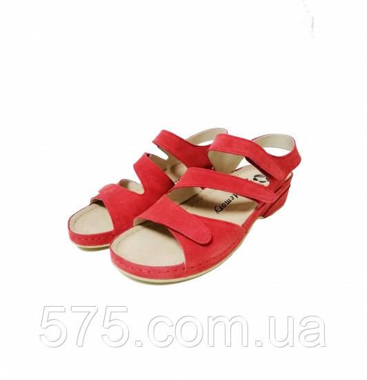 Босоножки женские Mubb (222-05) Красный